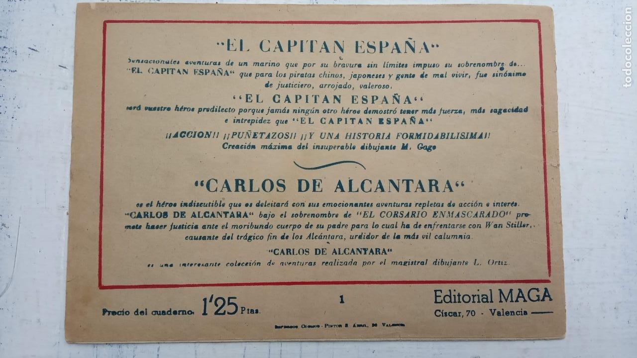 Tebeos: BALÍN ORIGINAL COMPLETA 1 AL 30 - 1955 EDI. MAGA - JOSÉ ORTÍZ DIBUJOS - MUY BIEN CONSERVADA - Foto 7 - 187465313
