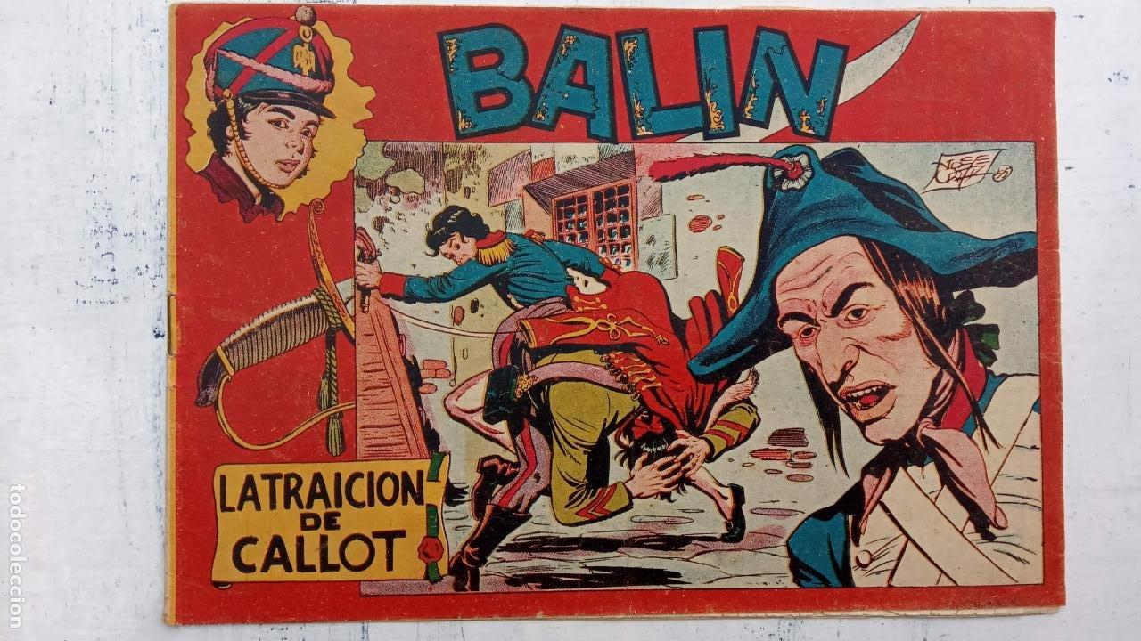Tebeos: BALÍN ORIGINAL COMPLETA 1 AL 30 - 1955 EDI. MAGA - JOSÉ ORTÍZ DIBUJOS - MUY BIEN CONSERVADA - Foto 9 - 187465313