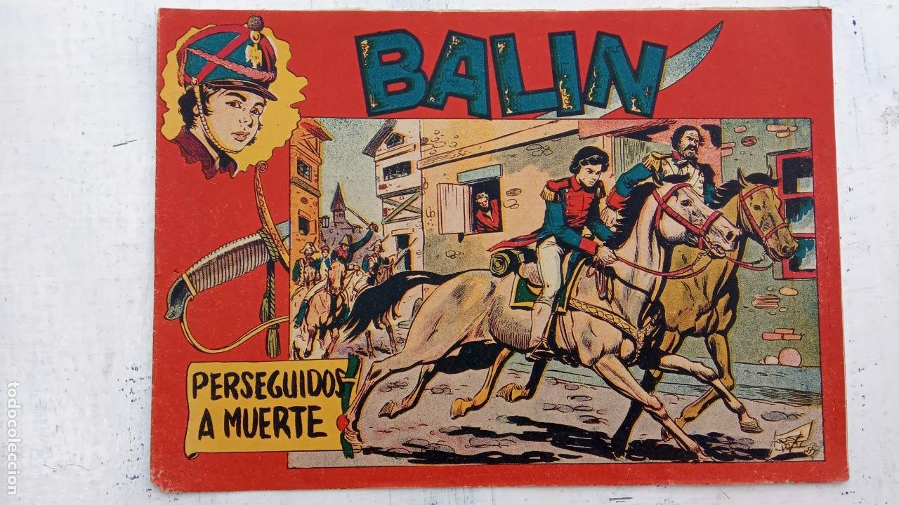 Tebeos: BALÍN ORIGINAL COMPLETA 1 AL 30 - 1955 EDI. MAGA - JOSÉ ORTÍZ DIBUJOS - MUY BIEN CONSERVADA - Foto 10 - 187465313