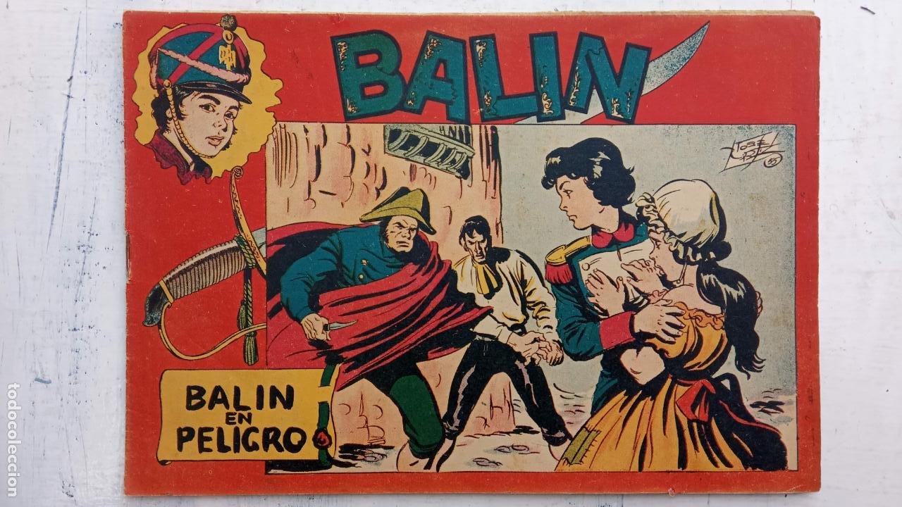 Tebeos: BALÍN ORIGINAL COMPLETA 1 AL 30 - 1955 EDI. MAGA - JOSÉ ORTÍZ DIBUJOS - MUY BIEN CONSERVADA - Foto 11 - 187465313