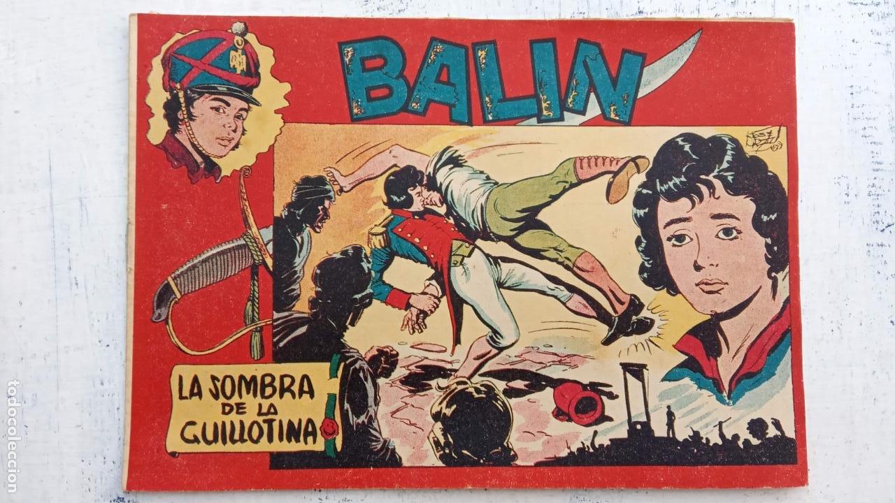 Tebeos: BALÍN ORIGINAL COMPLETA 1 AL 30 - 1955 EDI. MAGA - JOSÉ ORTÍZ DIBUJOS - MUY BIEN CONSERVADA - Foto 12 - 187465313
