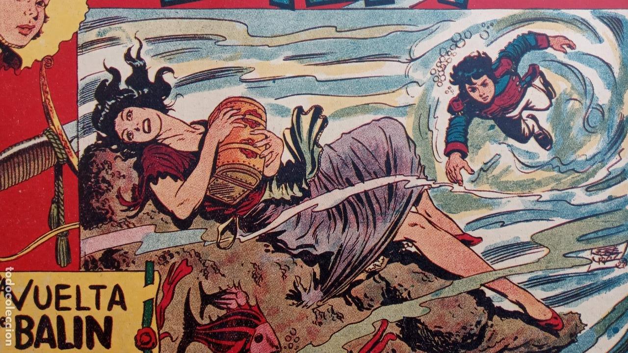 Tebeos: BALÍN ORIGINAL COMPLETA 1 AL 30 - 1955 EDI. MAGA - JOSÉ ORTÍZ DIBUJOS - MUY BIEN CONSERVADA - Foto 14 - 187465313