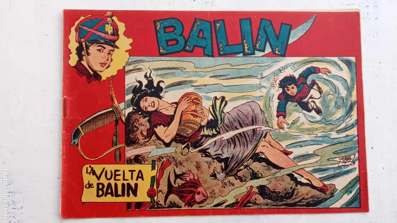 Tebeos: BALÍN ORIGINAL COMPLETA 1 AL 30 - 1955 EDI. MAGA - JOSÉ ORTÍZ DIBUJOS - MUY BIEN CONSERVADA - Foto 15 - 187465313