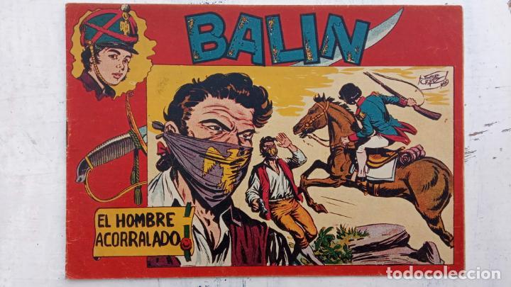Tebeos: BALÍN ORIGINAL COMPLETA 1 AL 30 - 1955 EDI. MAGA - JOSÉ ORTÍZ DIBUJOS - MUY BIEN CONSERVADA - Foto 16 - 187465313