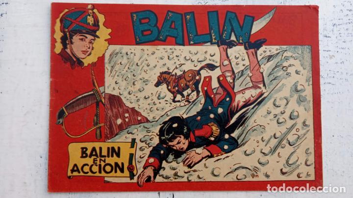 Tebeos: BALÍN ORIGINAL COMPLETA 1 AL 30 - 1955 EDI. MAGA - JOSÉ ORTÍZ DIBUJOS - MUY BIEN CONSERVADA - Foto 19 - 187465313