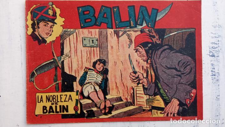 Tebeos: BALÍN ORIGINAL COMPLETA 1 AL 30 - 1955 EDI. MAGA - JOSÉ ORTÍZ DIBUJOS - MUY BIEN CONSERVADA - Foto 20 - 187465313