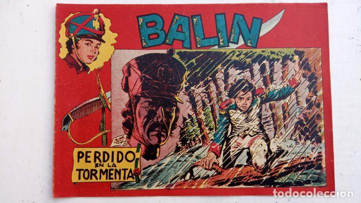 Tebeos: BALÍN ORIGINAL COMPLETA 1 AL 30 - 1955 EDI. MAGA - JOSÉ ORTÍZ DIBUJOS - MUY BIEN CONSERVADA - Foto 21 - 187465313