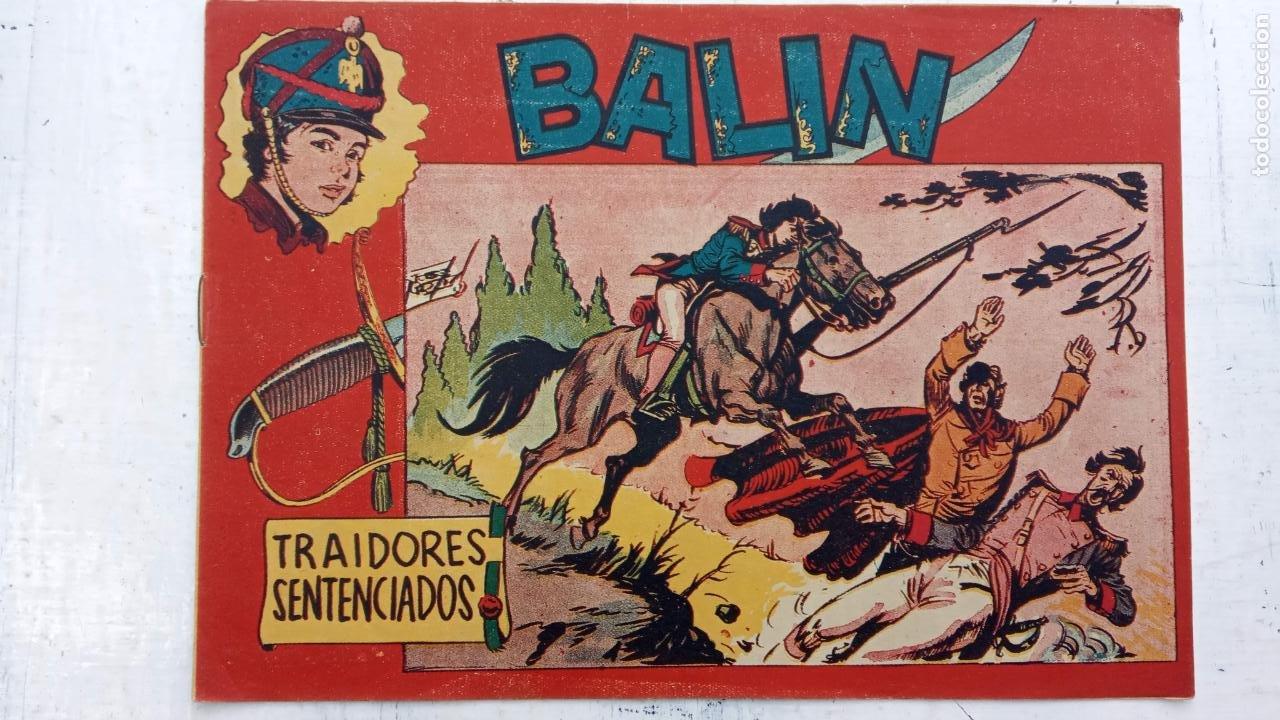 Tebeos: BALÍN ORIGINAL COMPLETA 1 AL 30 - 1955 EDI. MAGA - JOSÉ ORTÍZ DIBUJOS - MUY BIEN CONSERVADA - Foto 25 - 187465313