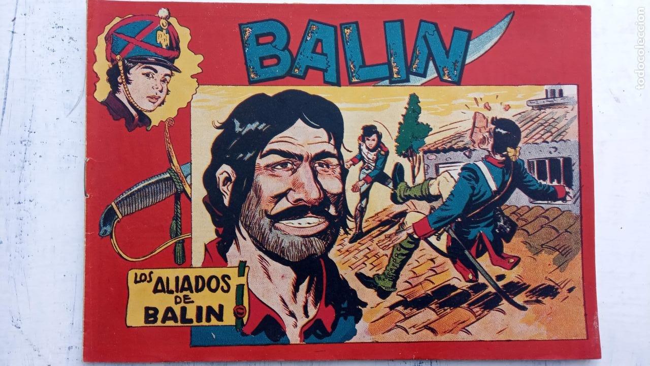 Tebeos: BALÍN ORIGINAL COMPLETA 1 AL 30 - 1955 EDI. MAGA - JOSÉ ORTÍZ DIBUJOS - MUY BIEN CONSERVADA - Foto 28 - 187465313