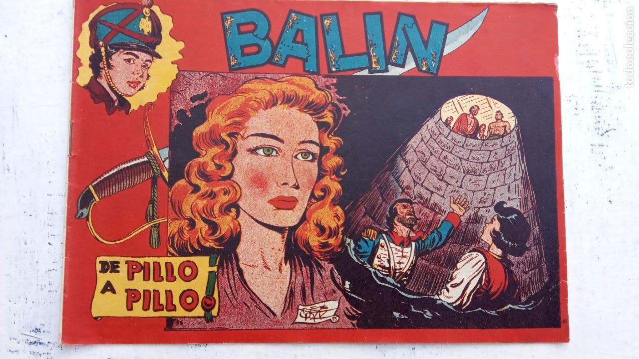 Tebeos: BALÍN ORIGINAL COMPLETA 1 AL 30 - 1955 EDI. MAGA - JOSÉ ORTÍZ DIBUJOS - MUY BIEN CONSERVADA - Foto 29 - 187465313