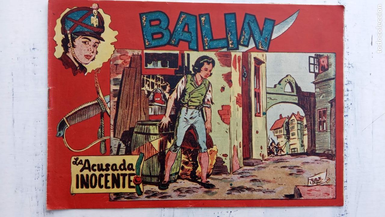 Tebeos: BALÍN ORIGINAL COMPLETA 1 AL 30 - 1955 EDI. MAGA - JOSÉ ORTÍZ DIBUJOS - MUY BIEN CONSERVADA - Foto 30 - 187465313