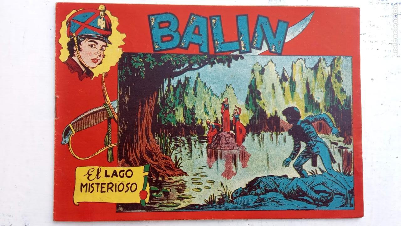 Tebeos: BALÍN ORIGINAL COMPLETA 1 AL 30 - 1955 EDI. MAGA - JOSÉ ORTÍZ DIBUJOS - MUY BIEN CONSERVADA - Foto 32 - 187465313