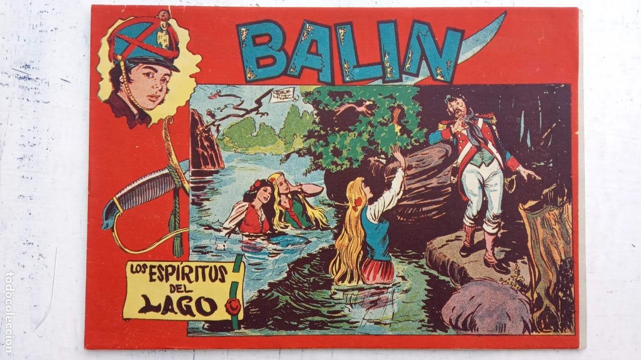 Tebeos: BALÍN ORIGINAL COMPLETA 1 AL 30 - 1955 EDI. MAGA - JOSÉ ORTÍZ DIBUJOS - MUY BIEN CONSERVADA - Foto 33 - 187465313