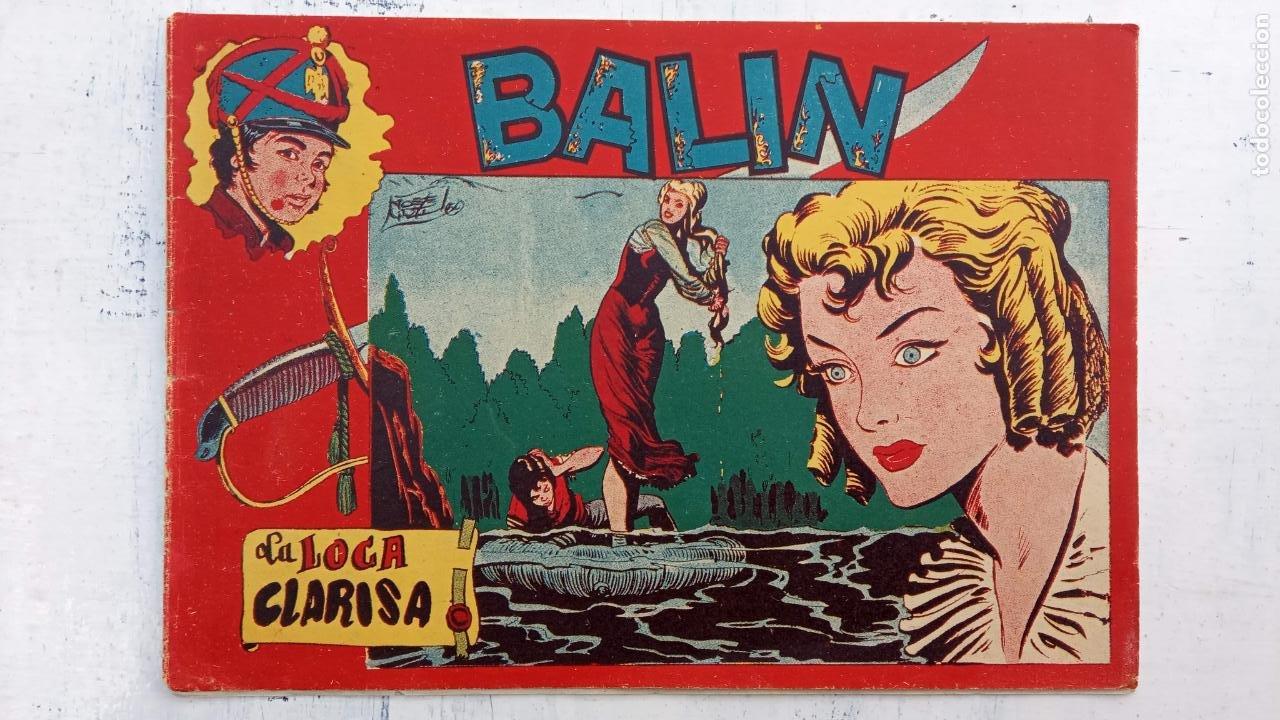 Tebeos: BALÍN ORIGINAL COMPLETA 1 AL 30 - 1955 EDI. MAGA - JOSÉ ORTÍZ DIBUJOS - MUY BIEN CONSERVADA - Foto 37 - 187465313