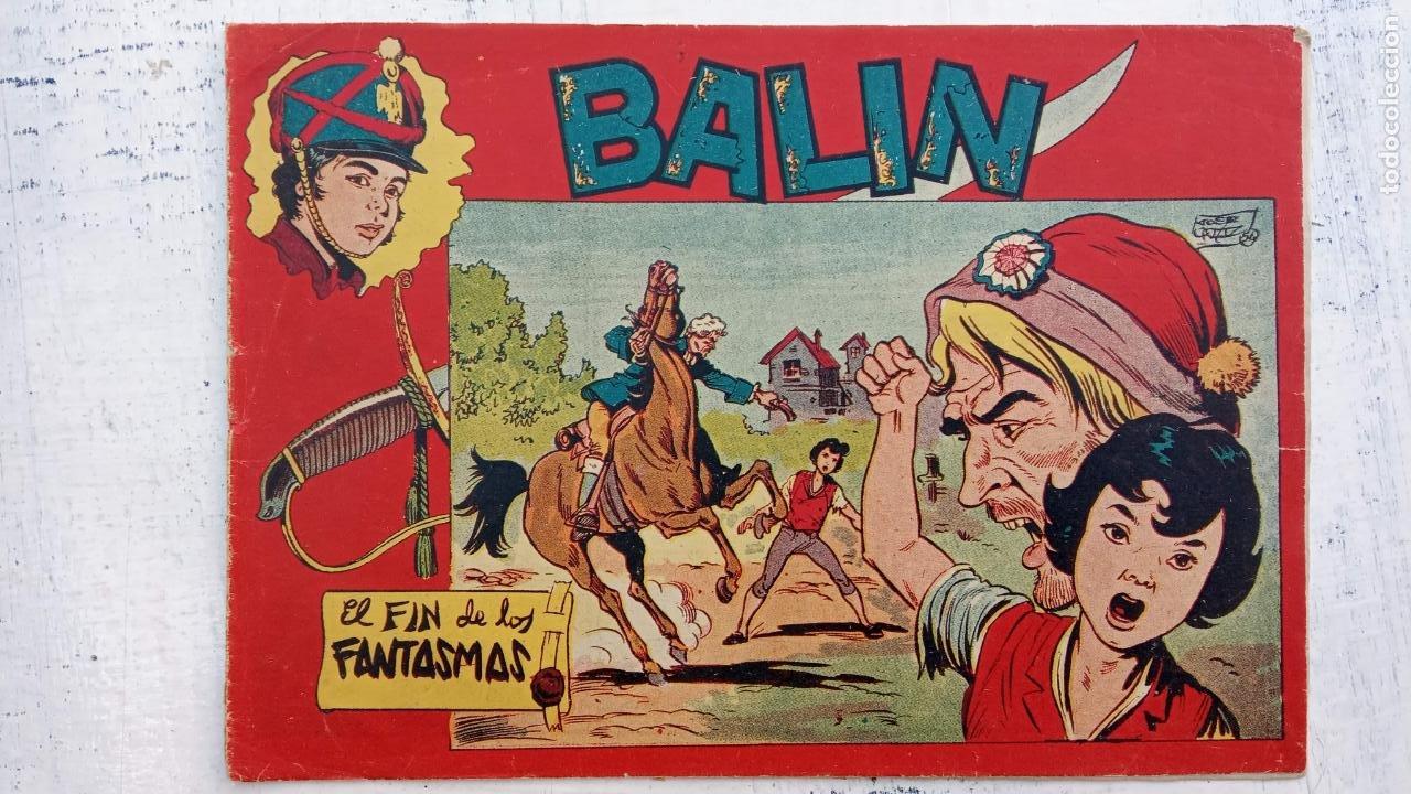 Tebeos: BALÍN ORIGINAL COMPLETA 1 AL 30 - 1955 EDI. MAGA - JOSÉ ORTÍZ DIBUJOS - MUY BIEN CONSERVADA - Foto 38 - 187465313