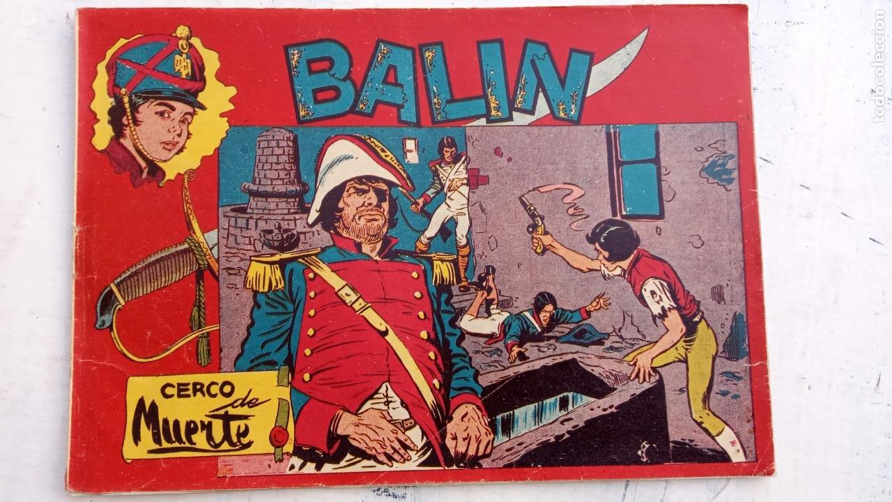 Tebeos: BALÍN ORIGINAL COMPLETA 1 AL 30 - 1955 EDI. MAGA - JOSÉ ORTÍZ DIBUJOS - MUY BIEN CONSERVADA - Foto 40 - 187465313