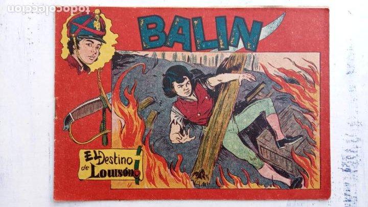 Tebeos: BALÍN ORIGINAL COMPLETA 1 AL 30 - 1955 EDI. MAGA - JOSÉ ORTÍZ DIBUJOS - MUY BIEN CONSERVADA - Foto 45 - 187465313