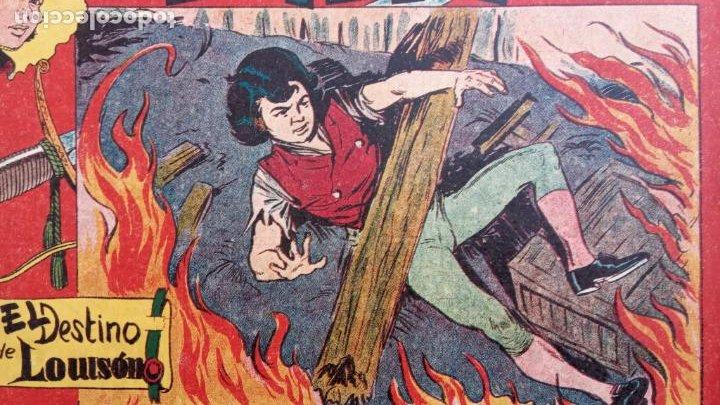 Tebeos: BALÍN ORIGINAL COMPLETA 1 AL 30 - 1955 EDI. MAGA - JOSÉ ORTÍZ DIBUJOS - MUY BIEN CONSERVADA - Foto 46 - 187465313