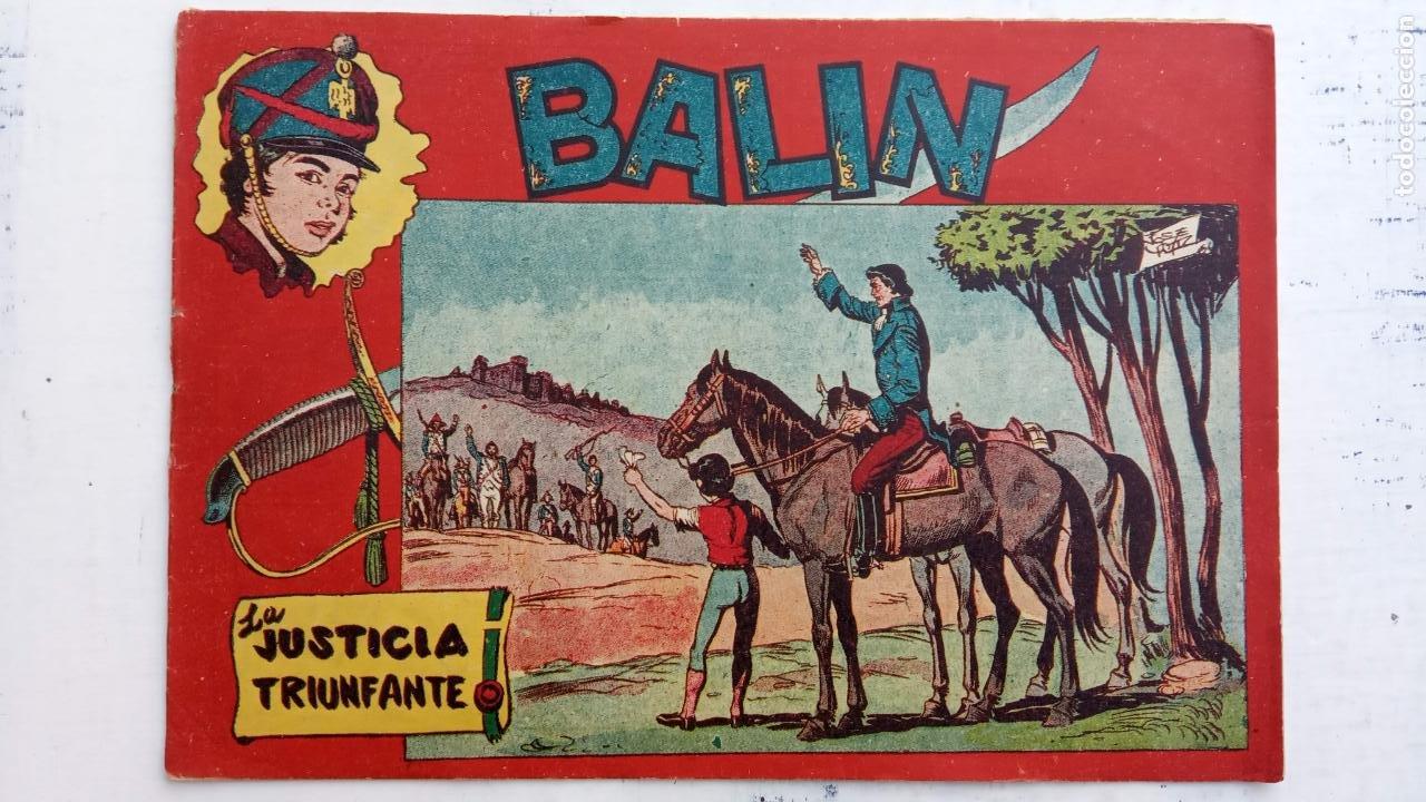 Tebeos: BALÍN ORIGINAL COMPLETA 1 AL 30 - 1955 EDI. MAGA - JOSÉ ORTÍZ DIBUJOS - MUY BIEN CONSERVADA - Foto 47 - 187465313