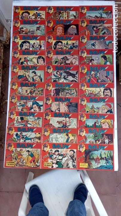 BALÍN ORIGINAL COMPLETA 1 AL 30 - 1955 EDI. MAGA - JOSÉ ORTÍZ DIBUJOS - MUY BIEN CONSERVADA (Tebeos y Comics - Tebeos Colecciones y Lotes Avanzados)