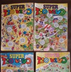 Tebeos: 4 SUPER TIO VIVO, ÉPOCA II - NºS, 5 (1972), 12 (1973), 20 (1974) Y 53 (1977) VER FOTOS, DESCRIPCIÓN. Lote 188472603