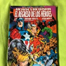 Tebeos: HEROES REBORN EL REGRESO DE LOS HÉROES FORUM. Lote 188559721