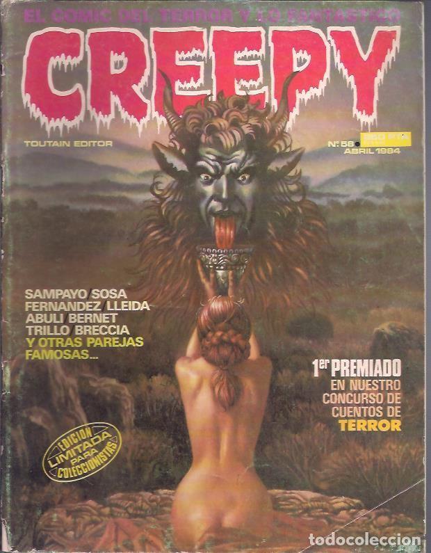 Tebeos: CREEPY (TOUTAIN ) LOTE ORIGINAL - Foto 9 - 27572359