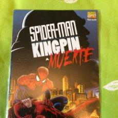 BDs: SPIDERMAN KINGPIN- A MUERTE TOMO ÚNICO FORUM. Lote 188694517