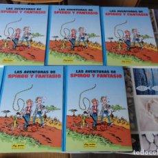 Giornalini: AVENTURAS DE SPIROU Y FANTASIO DE FRANQUIN COMPLETA. 5 TOMOS. JUNIOR-GRIJALBO. C-38. DIFICIL!!. Lote 189118827