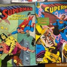 Livros de Banda Desenhada: SUPERMAN Nº 3 Y 26 CORRECTOS. Lote 189768382