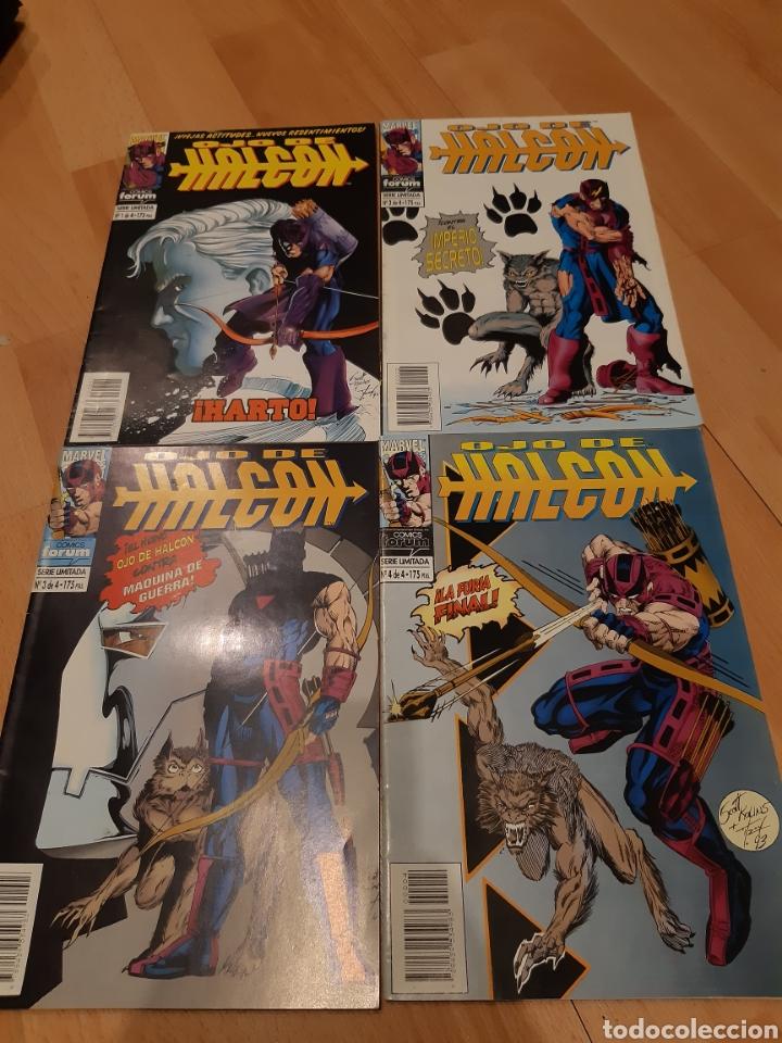 OJO DE HALCÓN, 1 AL 4 SERIE LIMITADA DE FÓRUM (1994) (Tebeos y Comics - Tebeos Colecciones y Lotes Avanzados)
