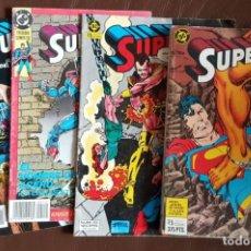 Tebeos: 9 CÓMICS DE SUPERMAN (DC / EDICIONES ZINCO) VER NÚMEROS Y FOTOS. Lote 189824835