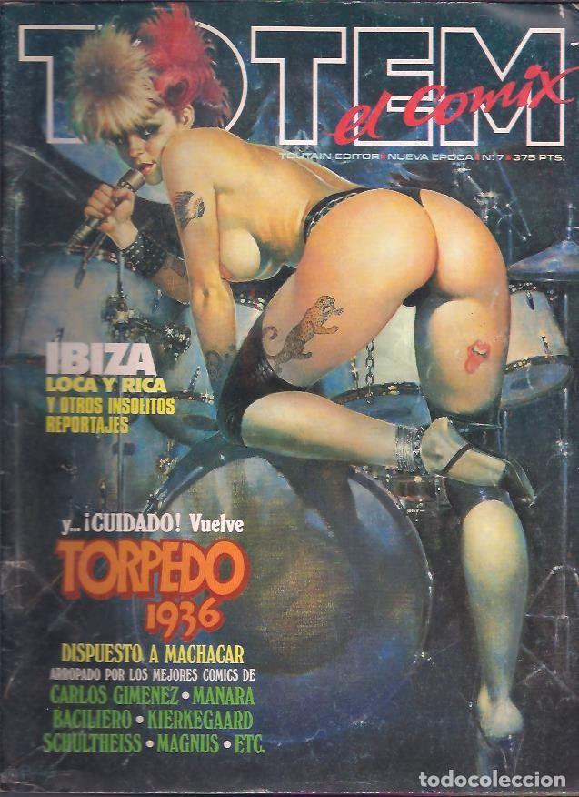 Tebeos: TOTEM EL COMIX ( TOUTAIN ) ORIGINALES 1987-1992 LOTE - Foto 6 - 30341810