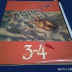 BDs: RESERVADO TINTIMAN Nº-3-4 NUMERO REVISTA MOVIDA VIGO 1984 GRAN FORMATO. Lote 190102502
