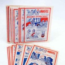 BDs: EL ÁNGEL. PUBLICACIÓN SEMANAL 591 A 614. SALVO 607, 611 Y 613 (VVAA) BARCELONA, 1959. OFRT. Lote 190156173