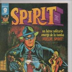 Tebeos: SPIRIT DE WILL EISNER DE GARBO EDITORIAL. Lote 190460488