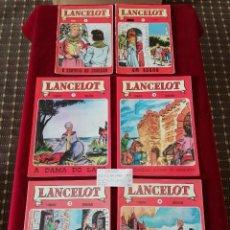 Tebeos: LOTE LANCELOT - 6X VOLUMES DE 1976 / 77- PORTUGAL. Lote 190495041