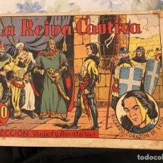 Livros de Banda Desenhada: VIAJES Y AVENTURAS LA REINA CAUTIVA EST 8. Lote 190649568