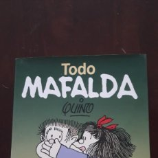 Tebeos: TODO MAFALDA. 40º ANIVERSARIO. GRAN FORMATO. Lote 190712245