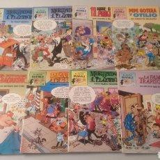 Livros de Banda Desenhada: COLECCIÓN COMPLETA 8 NÚMEROS EL MEJOR IBAÑEZ. Lote 190823895