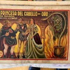 Livros de Banda Desenhada: MONOGRAFICOS AMELLER Nº 36 LA PRINCESA DE LOS CABELLOS DE ORO EST 2. Lote 190829711
