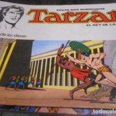Tebeos: COLECCION COMPLETA EN 8 NUMEROS DE TARZAN - NOVARO . Lote 190839341