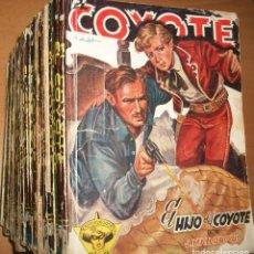 Tebeos: EL COYOTE (CLIPER) (LOTE DE 39 NOVELAS) VER DESCRIPCION. Lote 190920140