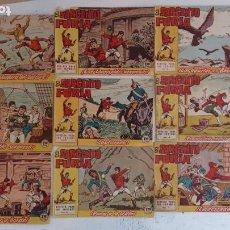 Tebeos: EL SARGENTO FURIA ORIGINAL AÑO 1962 BRUGUERA - LOTE 9 NºS - 1,4,6,8,11,13,14,15,16. Lote 191122567