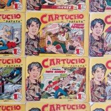 Tebeos: CARTUCHO Y PATATA ORIGINAL 16 NºS - 2,3,4,5,6,7,8,9,10,11,12,13,14,15,16,18 MAGA 1956. Lote 191124488