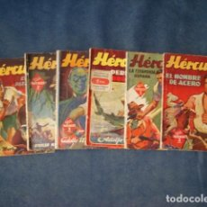 Tebeos: COLECCIÓN HOMBRES AUDACES: HÉRCULES, 1942, COMPLETA, 6 NÚMEROS. COLECCIÓN A.T.. Lote 191303190