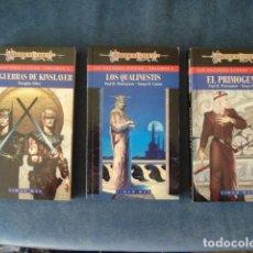Tebeos: DRAGON LANCE: LAS NACIONES ELFICAS, 1994, COMPLETA, 3 TOMOS IMPECABLES. TIMUN MAS. COLECCIÓN A.T.. Lote 191304237