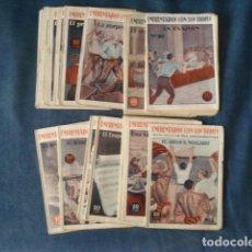 Tebeos: ENFRENTADOS CON LOS DIOSES, COMPLETA, 20 NÚMEROS, BUEN ESTADO. COLECCIÓN A.T.. Lote 191304988