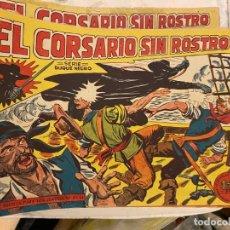 Tebeos: CORSARIO SIN ROSTRO LOTE DE 41 EJEMPLARES FALTA EL Nº 42 SE VENDEN SUELTOS EST 19. Lote 191323740