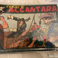 Tebeos: CARLOS DE ALCANTARA COMPLETA A FALTA DEL Nº 26-31 Y 33 SE VENDEN POR SEPARADO EST 19. Lote 191327932